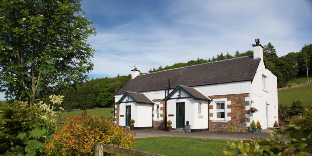 Synton Mains self-catering holiday cottages