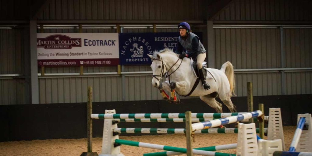 Ian Stark Equestrian Centre Indoor School showjumping